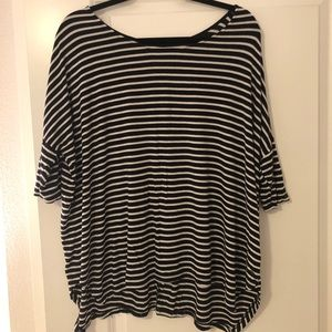 AE soft & sexy loose striped tee